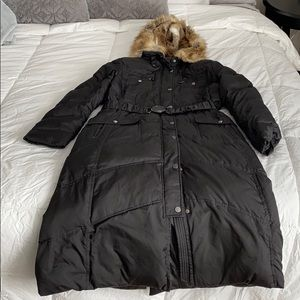 Laundry puffer jacket